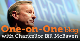 One-on-One Blog with Bill McRaven