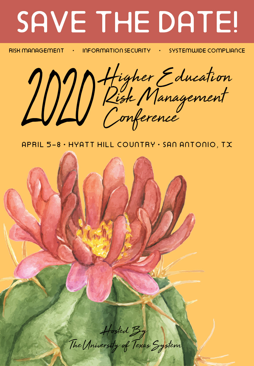 Save the Date: 2020 Risk Management Conference
