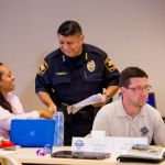 Assistant Director Ruben Puente facilitated a panel discussion on Developing Leads at the Caruth Police Institute